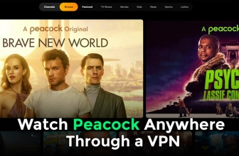 Stream Peacock TV online outside the US with a VPN
